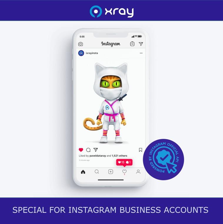 Бесплатный сервис статистики и аналитики Инстаграм аккаунтов - iXray