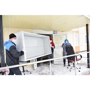ОНФ Коми помогает обустроить в Усинске госпиталь для больных Covid-19