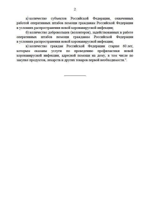 Изменения в порядок предоставления субсидий на господдержку НКО