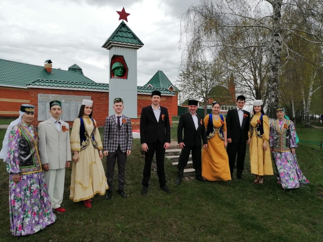 Национальная атвономия татар Чувашии - участник акции #ПоемДеньПобеды