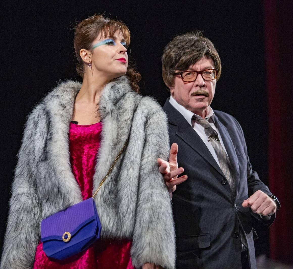 Театр сатиры: онлайн-трансляция спектакля «Хомо Эректус» 12 мая