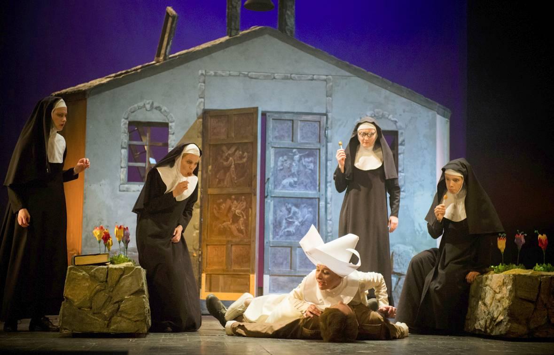 Театр им. Пушкина: Онлайн-трансляция спектакля «Эстроген» 12 мая