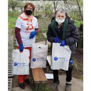 Волонтеры Рязаньэнерго поздравили ветеранов