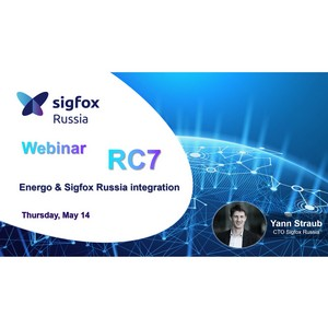 Онлай вебинар Sigfox Россия для IT и IoT-компаний