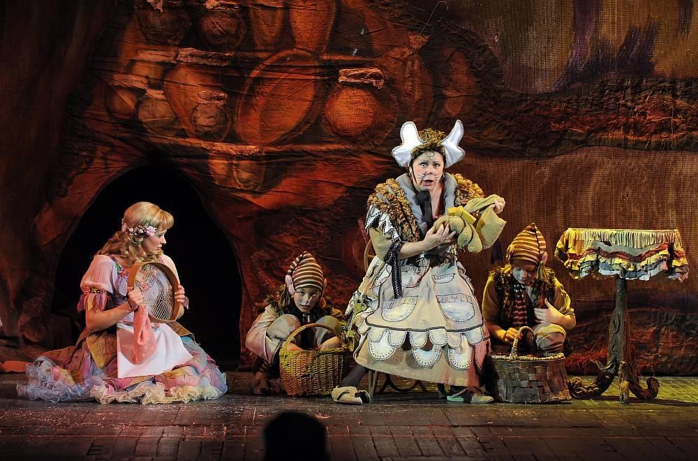 Онлайн-трансляция оперы-сказки «Дюймовочка» для детей