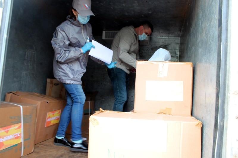 Участники акции #Мывместе передали СИЗы двум больницам Мордовии