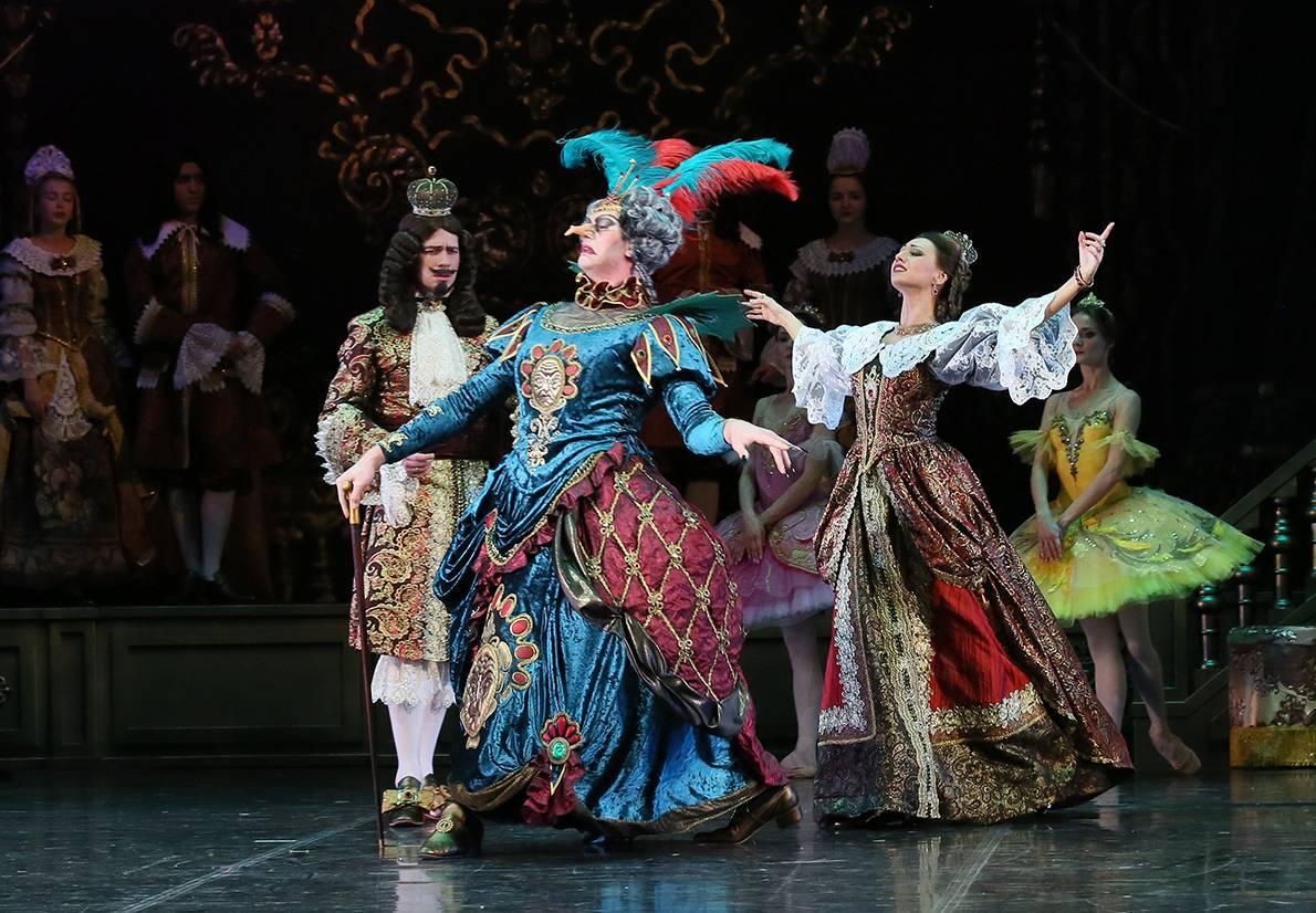 Онлайн-трансляция балета «Спящая красавица» для детей