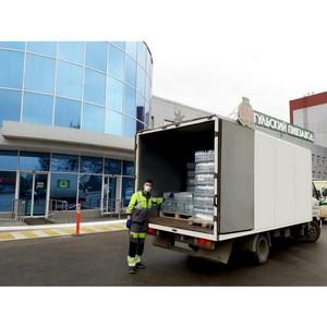 «Тульский Пивзавод» передал 10 000 бутылок воды областной больнице