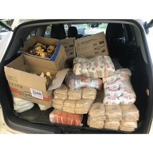 «Teрентич Тим» в Мордовии передал более 30 семьям продуктовые наборы
