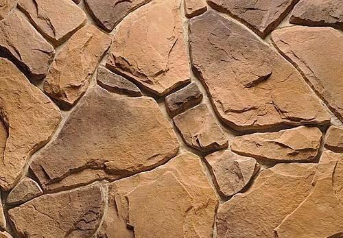 Выберите декоративный камень или кирпич и цвет затирки одновременно