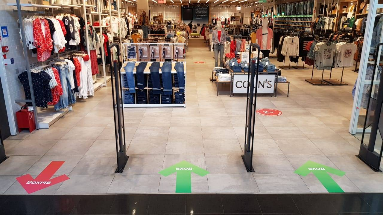 Фирменные магазины Colin's возобновляют работу в России