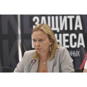 Минеева с начала года помогла предпринимателям вернуть 32 млн рублей