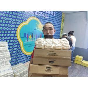 3,7 тысячи семей Тувы получили гуманитарную помощь от штаба #МыВместе