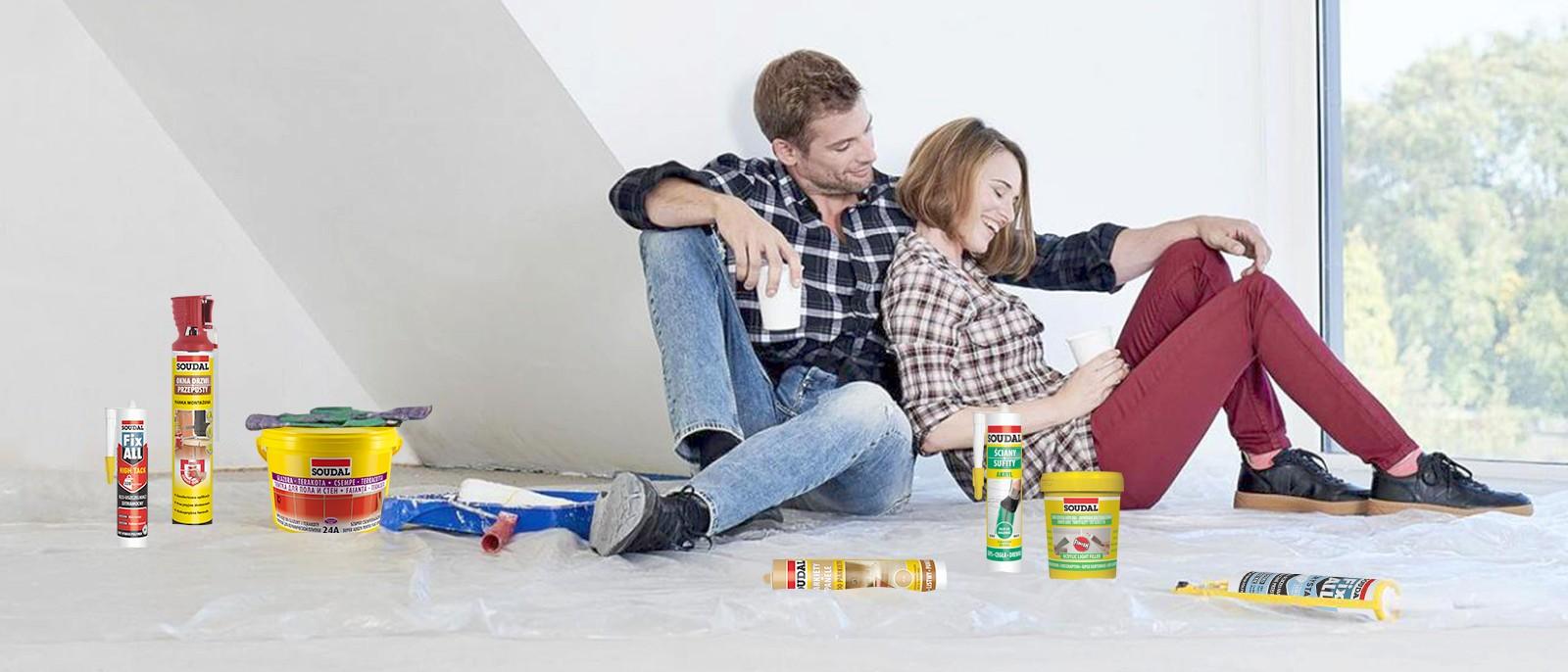 Весенний ремонт в радость – с продуктами Soudal
