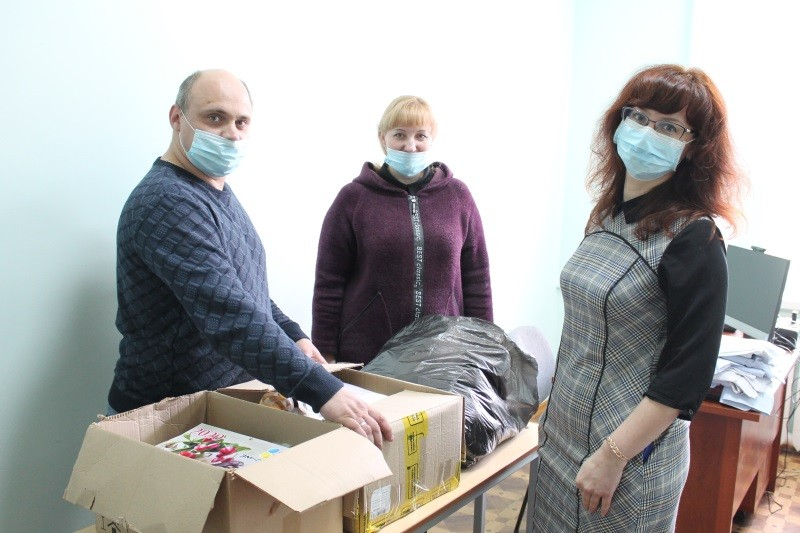 В Мордовии продукты из «тележек добра» передали многодетной семье