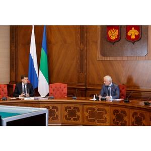 Татьяна Плато приняла участие в совещании с руководством Коми