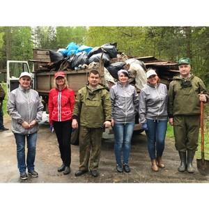 Активисты ОНФ в Коми ликвидировали свалки в особой лесной зоне
