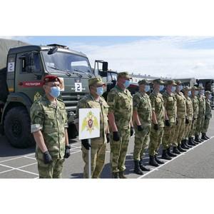 В Туве стартовал всеармейский этап «Военного ралли»