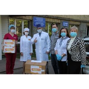 Коми ОНФ передал больнице СИЗ и обратил внимание властей на их дефицит