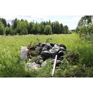 Активисты ОНФ нашли свалку отходов в Слободском р-не Кировской области