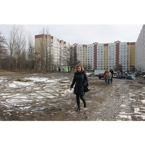 По сигналу ОНФ власти Воронежа благоустроят микрорайон Нефтебаза