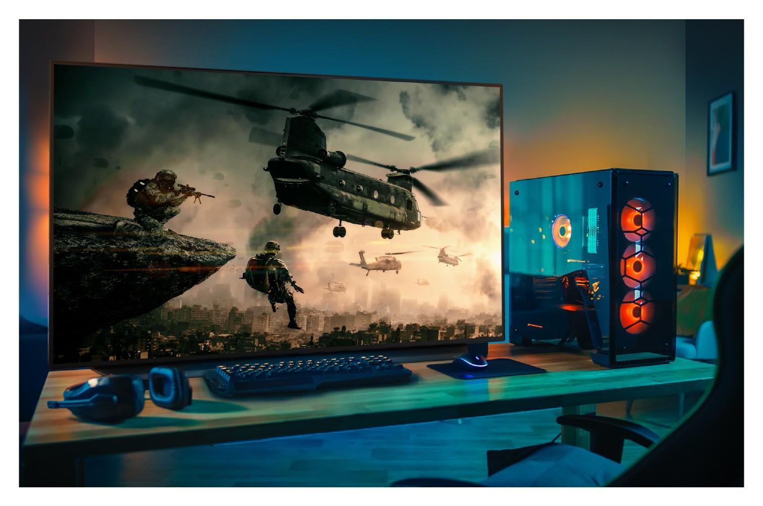 Новый Oled-телевизор LG с диагональю 48 дюймов: для фильмов и игр