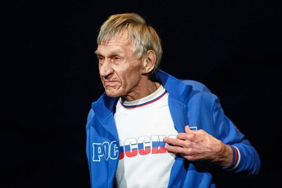 На недавнем чествовании юбиляра Владимира Шибанкова, которое провёл его ученик Народный артист России Валерий Кириллов.