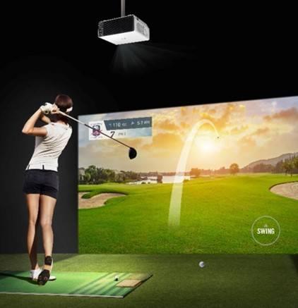 Лазерный проектор для бизнеса LG Probeam BU50NST