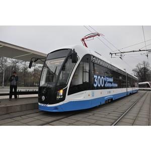 Восемь новых трамваев «Витязь-Москва» прибыли в столицу в мае