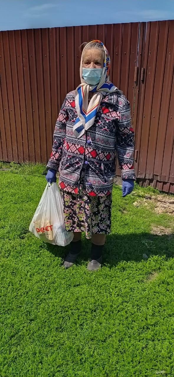 ОНФ в Мордовии передал продукты пенсионерам из Теньгушевского района