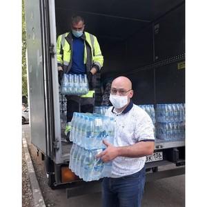 «Воронежский пивзавод» передал 10 000 бутылок воды для соцучреждений