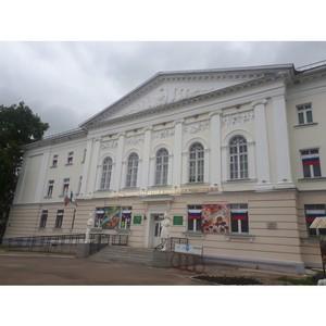 ОНФ в Коми провел в День России ряд акций