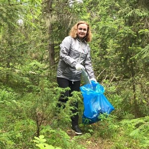 ОНФ провел субботник на территории природного ландшафта Коми
