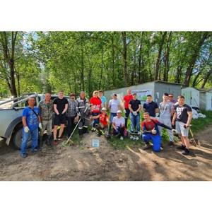 Активисты ОНФ в Коми провели экосубботники