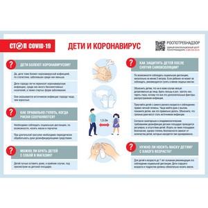 Как защитить детей от коронавируса в период снятия ограничений