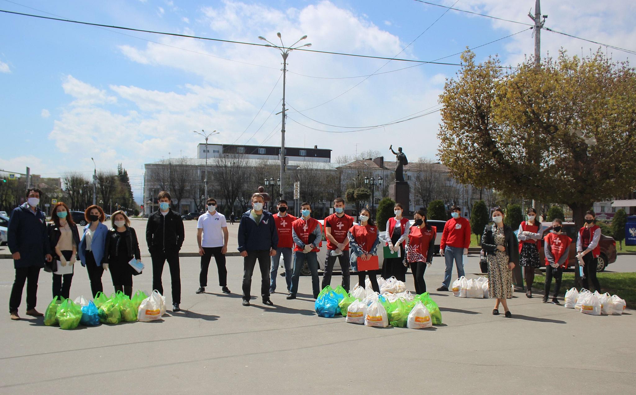 Более 30 тысячам пожилых людей в КБР помогли волонтеры акции #МыВместе