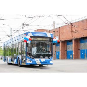 Санкт-Петербург пополнили новые троллейбусы «Адмирал 6281»