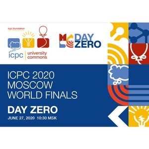 ICPC 2020 World Finals Moscow: Day Zero