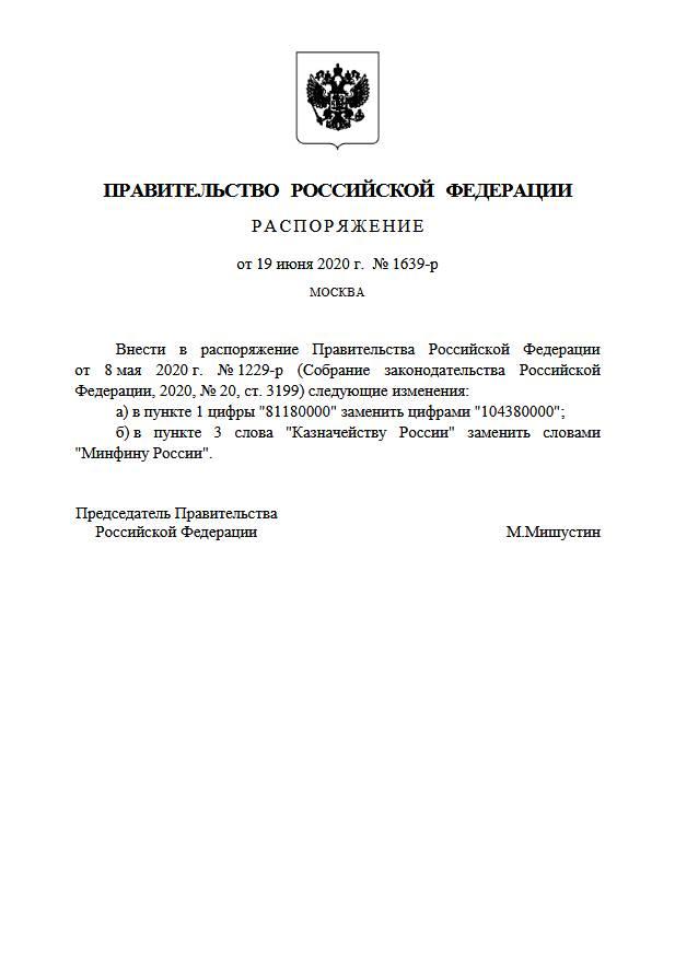 Дополнительно выделено 23 млрд руб. на субсидии МСП