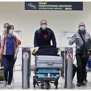 Об отмене изоляции для лиц, прибывающих в Россию регулярными рейсами