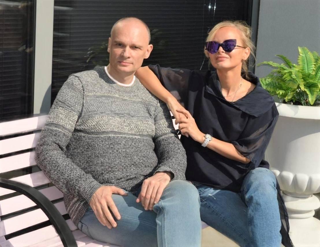 Ю.А. Волынкин и Олеся Ермакова