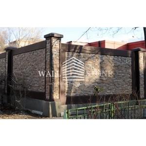 Декоративные заборы от компании WallStone