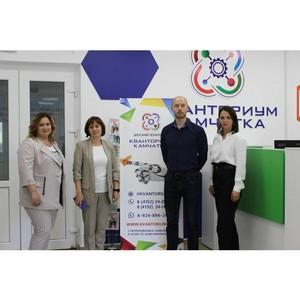 Председатель комиссии ОП РФ побывала в центрах образования Камчатки