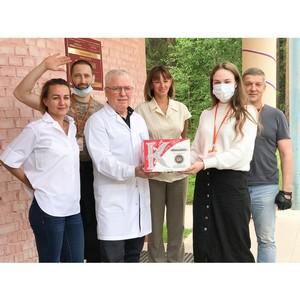 #МыВместе: почти 1 тонну сладостей получили медики Усинска и Ухты