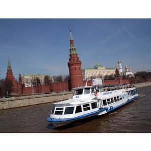 Прогулки по Москве-реке все чаще оплачивают картами или смартфонами
