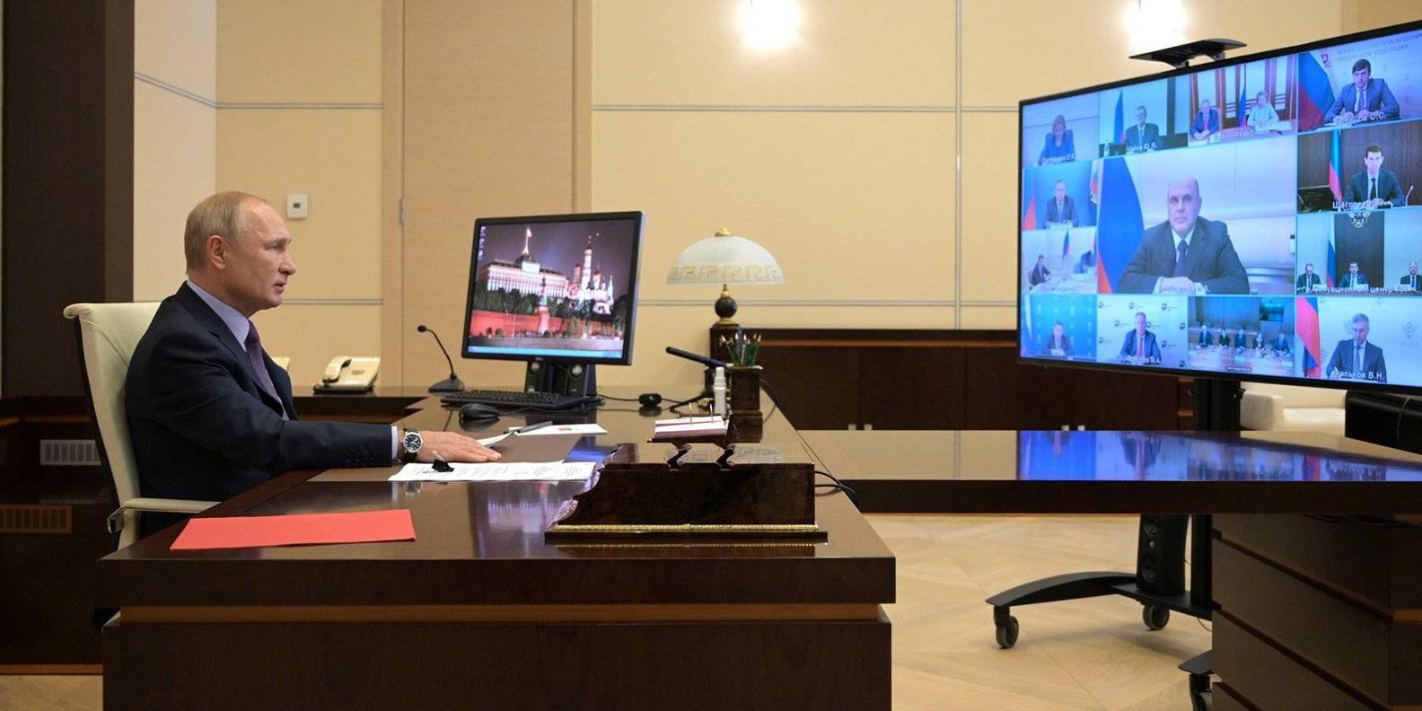 Фото: пресс-служба Кремля.
