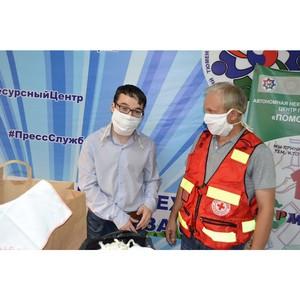 Тюменский «Красный крест» вносит свой вклад в борьбу с пандемией