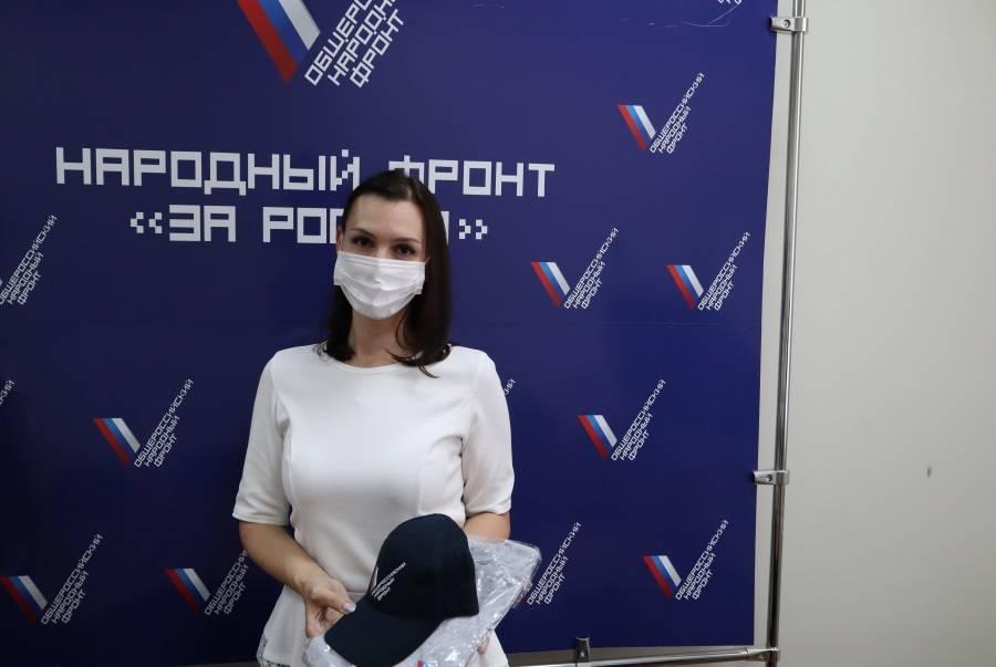 Участница забега #неПациент из Саранска получила от ОНФ подарок