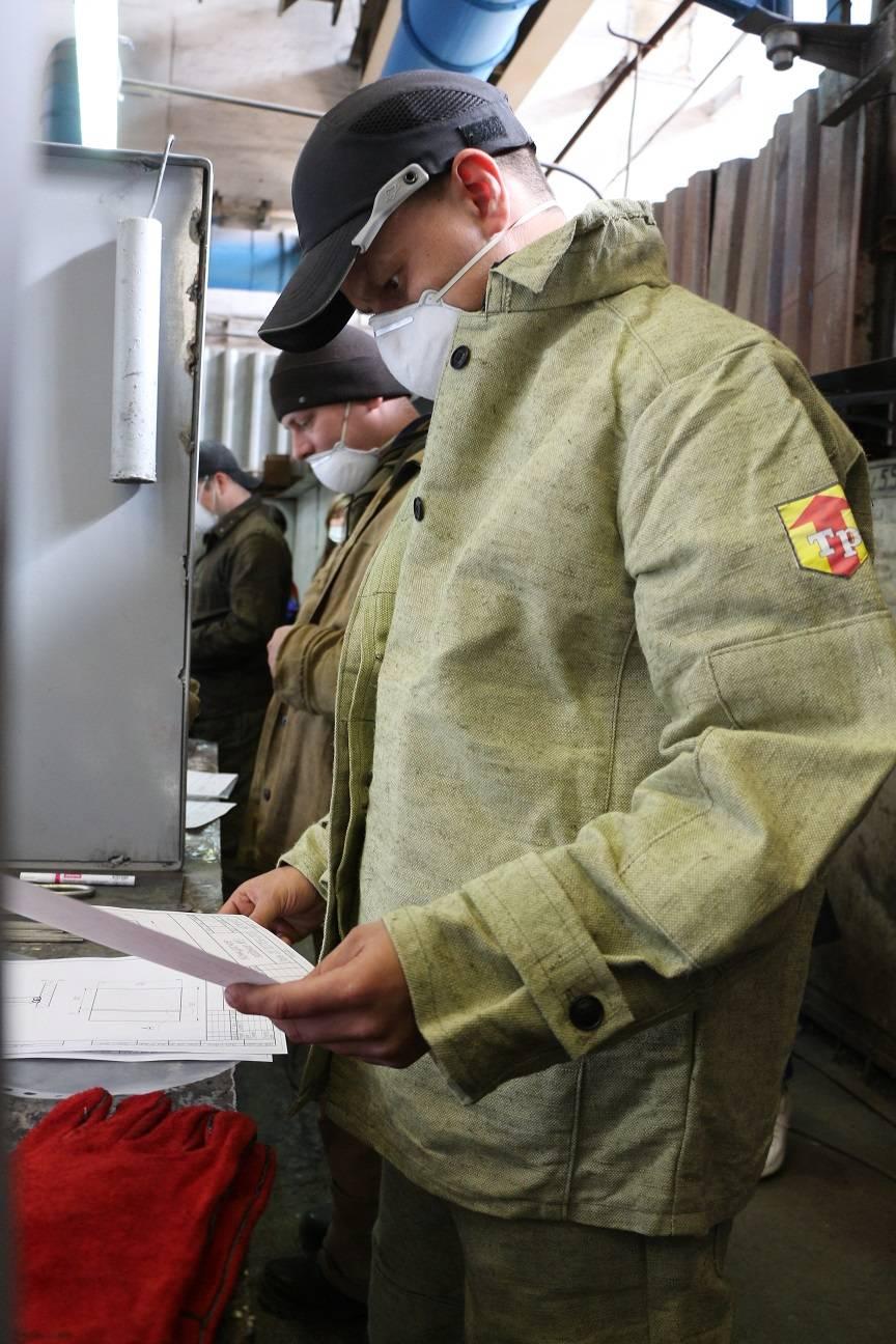 Конкурс профмастерства электрогазосварщиков КУЛЗа