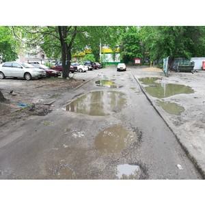 ОНФ добивается ремонта проезда на улице 25 Января в Воронеже